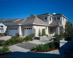 House with Paved Walkways