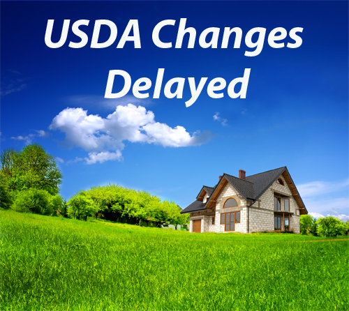 USDA-Changes-Delayed